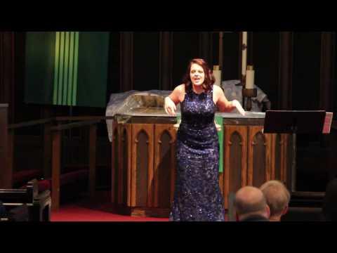 Sarah Servais High School Opera Recital 2016