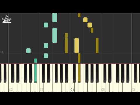 방탄소년단 (BTS) - 봄날 (Spring Day) Piano Tutorial