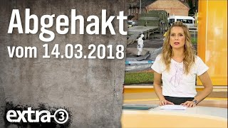 Abgehakt am 14.03.2018