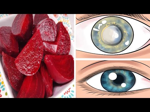 3 Ingredient Mixture Improves Vision and Liver Detoxification!