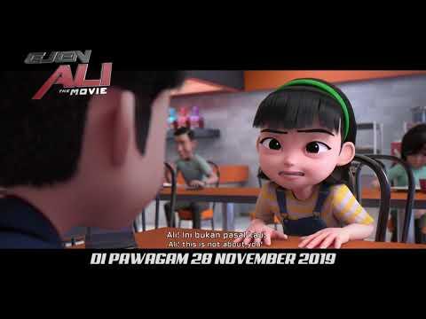 Ejen Ali The Movie - Official Trailer #2   Di Pawagam 28 November 2019