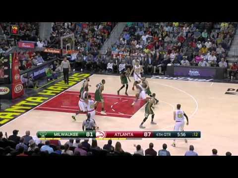 Milwaukee Bucks vs Atlanta Hawks | March 25, 2016 | NBA 2015-16 Season