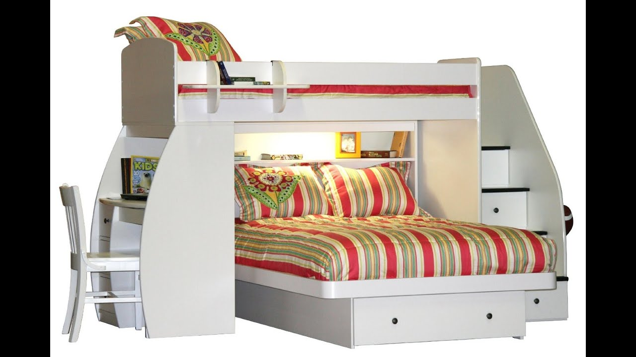 Bunk bed with stairs and storage - Bunk Bed With Stairs And Storage 34