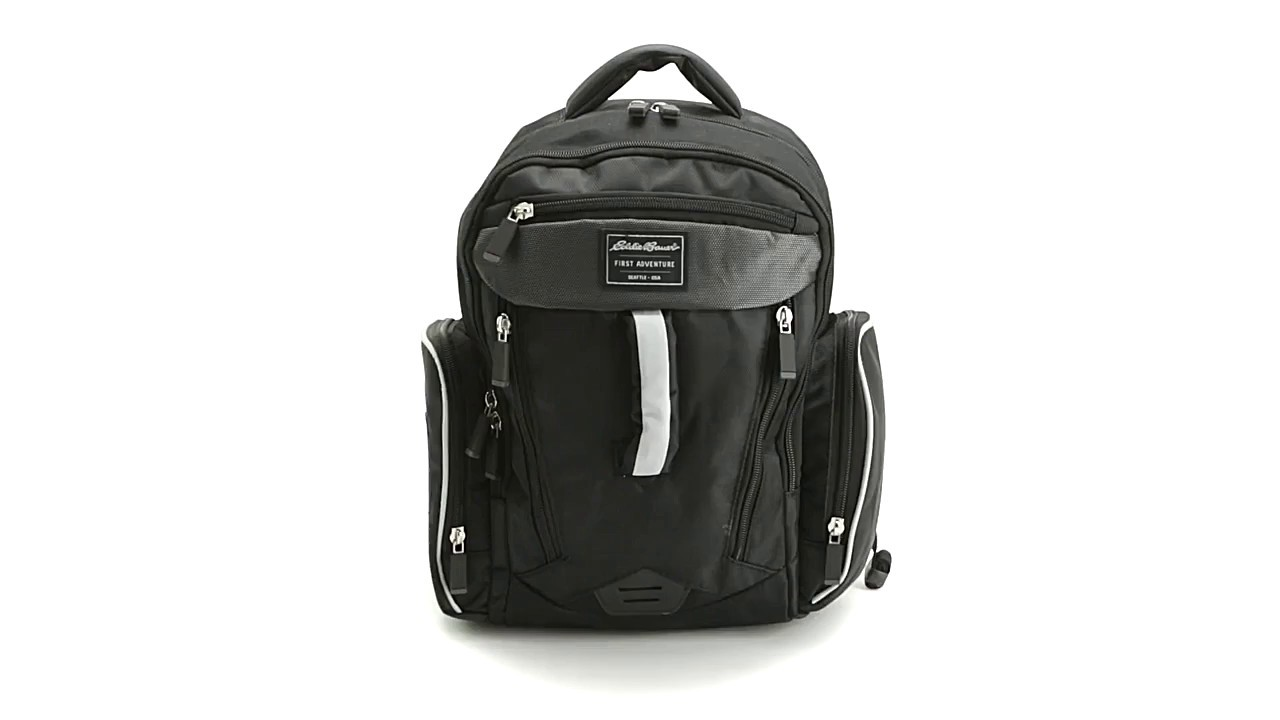 e1493e3b97ee EDDIE BAUER PLACES   SPACES SPORT DIAPER BACKPACK - YouTube