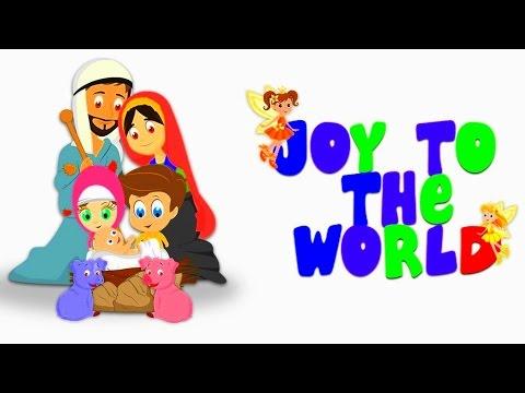 Joy to the World The Lord Has Come | Christmas Carols For The KARA Kidz - YouTube
