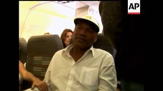 First Person: Flying with O.J.