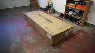 ProForm Performance 400 treadmill unboxing, part 1 of 2