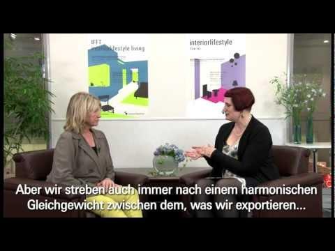 Messe Frankfurt: Interview with Martha Stewart at Interior Lifestyle Tokyo 2012 [Deutsch]