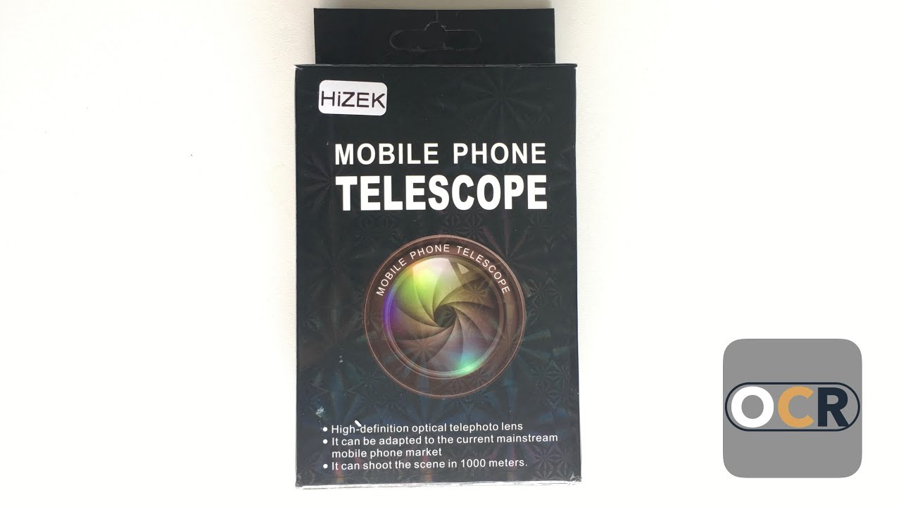 Amazon Review: Hizek Mobile Phone Telescope Camera Lens  Discover the zoom  possibilities!