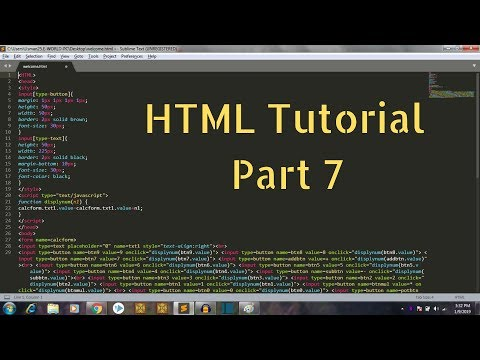 HTML Tutorial for Beginners Part 7 - Adding Images thumbnail