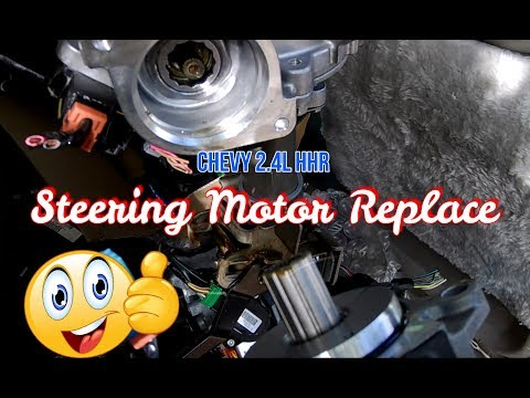 This Power Steering Motor Made A Huge Difference In My Chevy Hhr 2 4l Youtube