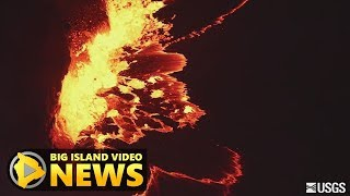 New Videos Capture Kilauea Volcano Lava Lake (Nov. 21, 2017)