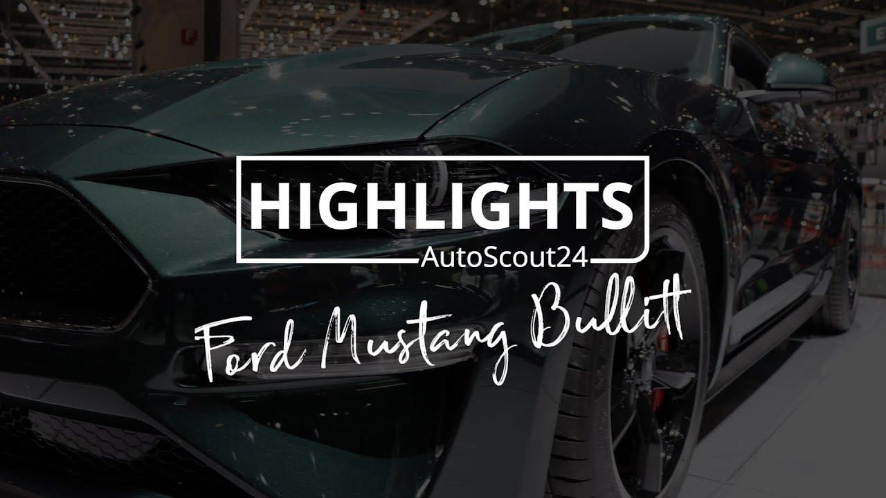 Ford mustang bullitt autosalon genf 2018 autoscout24 schweiz
