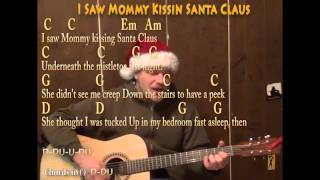 I Saw Mommy Kissing Santa Claus (Christmas) Strum Guitar Cover - Lyrics Chords