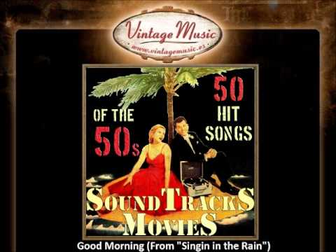 Good Morning Singin In The Rain Vintagemusic Es Youtube