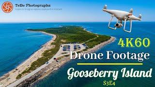 4K60 Drone Footage | Gooseberry Island, MA