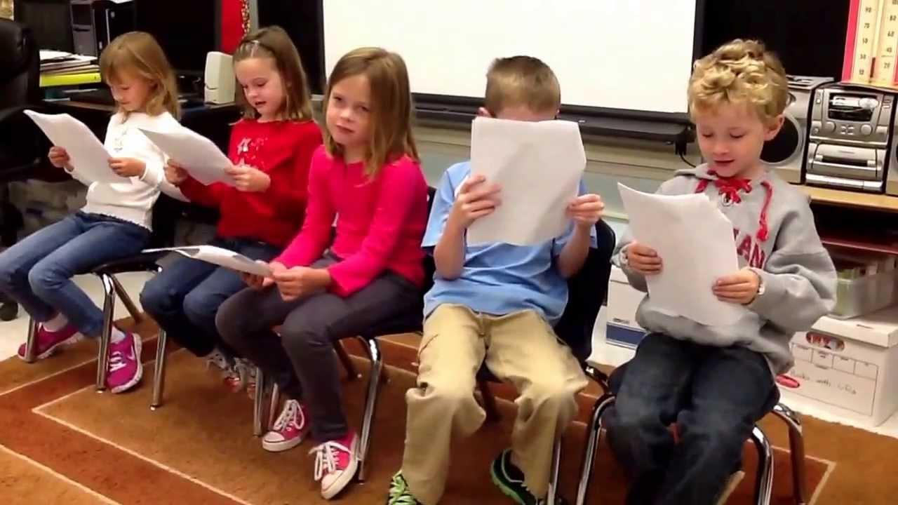 Olivia, Annika, Madison, Carson, Parker October reading ...