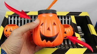 Experiment Shredding Halloween Lego And Toys | The Crusher