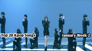 TOP 20 KPOP SONGS CHART GIRL GROUP/SOLO | January 2019 (2nd Week)