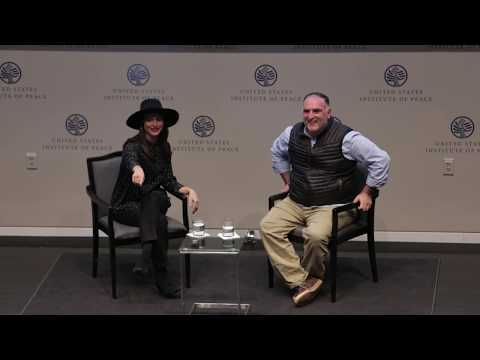 Jose Andres + Lilia Luciano at NEXUS USA Summit 2018