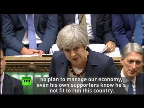 May goes in on Corbyn & Diane Abbott at #PMQs