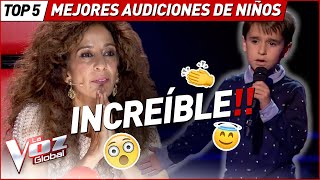 They SURPRISED with this INCREDIBLE Blind Auditions in La Voz Kids