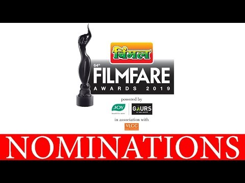 Nominations for the 64th Vimal Filmfare Awards 2019 | Filmfare