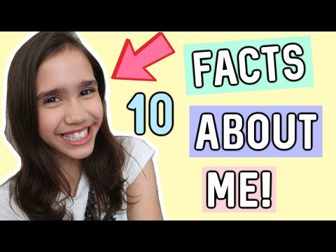10 FACTS ABOUT ME!😜  ***Welcome To My Channel***