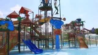 видео Отдых на Азовском море с аквапарком. Ейск 2016г.