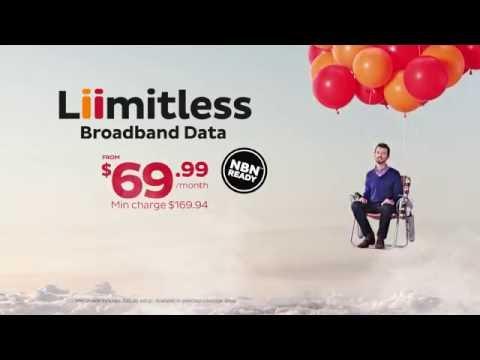 iiNet - Liimitless Broadband Data 30sec