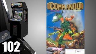 Commando [102] Arcade Longplay/Walkthrough/Playthrough (FULL GAME)