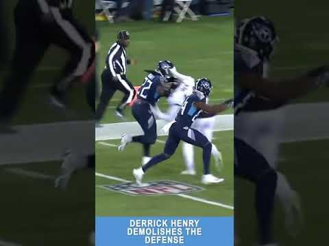 Derrick Henry 99 Yard Stiff Arm
