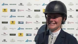 Sarah Billington wins the Andrews Bowen CSI AM-B at Bolesworth 2017