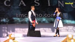 Fresno Hmong International New Year 2016 - 2017: Vichai and Christy Thoj