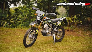 TESTRIDE KLX 150 BF X-TREME 2019 INDONESIA!!!