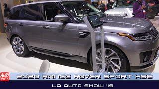2020 Range Rover Sport HSE PHEV - Exterior And Interior - LA Auto Show 2019