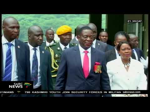 SABC will broadcast Zimbabwe presidential inauguration on Sunday
