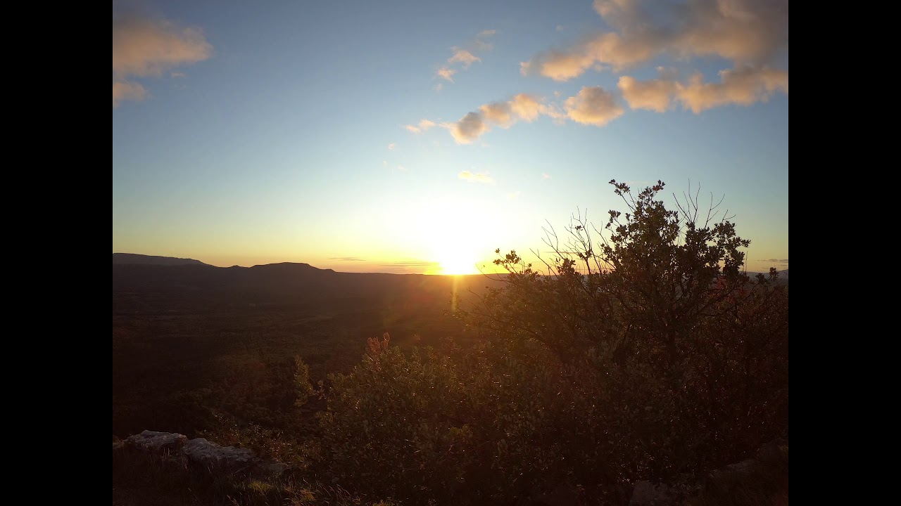Timelapse coucher de soleil à Saint Paul Lès Durance