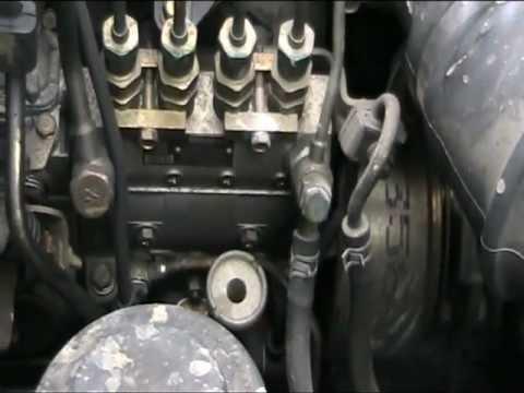 Снятие ступицы с тормозным барабаном HINO 500