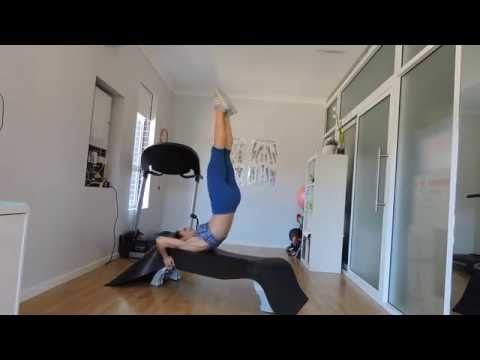 STRAIGHT LEG LIFTS WITH HIP RAISE