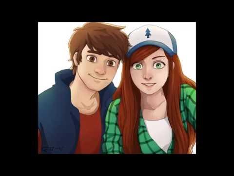 Gravity Falls Young Wendy Meets Future Dipper Doovi