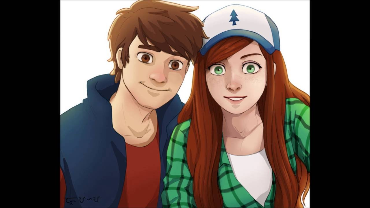 Gravity Falls Dipper And Wendy Wallpaper Fanart Wendip Wendy X Dipper Kiss You Youtube