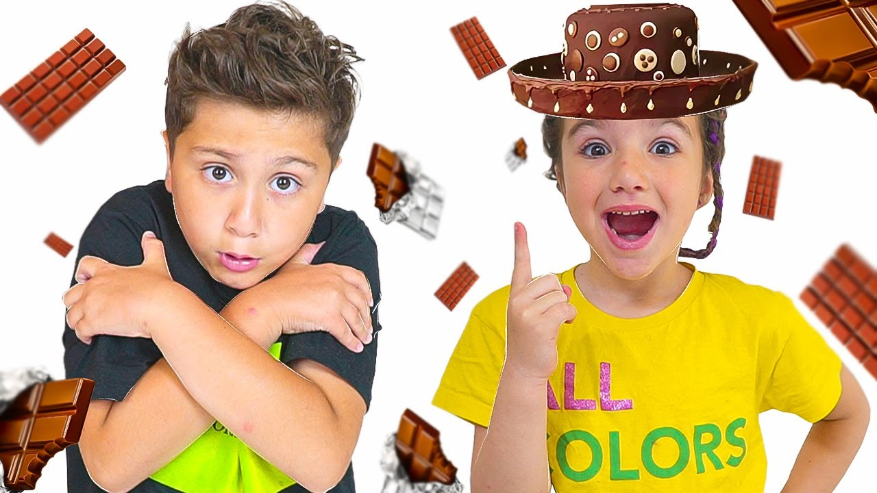 Как Аминка устроила фокусы и веселая история про шоколад