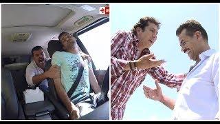تصرف سامو زين مع سائق سيارة مقلب هاني رمزي يحدث ضجة: شاهدوا ما فعله!