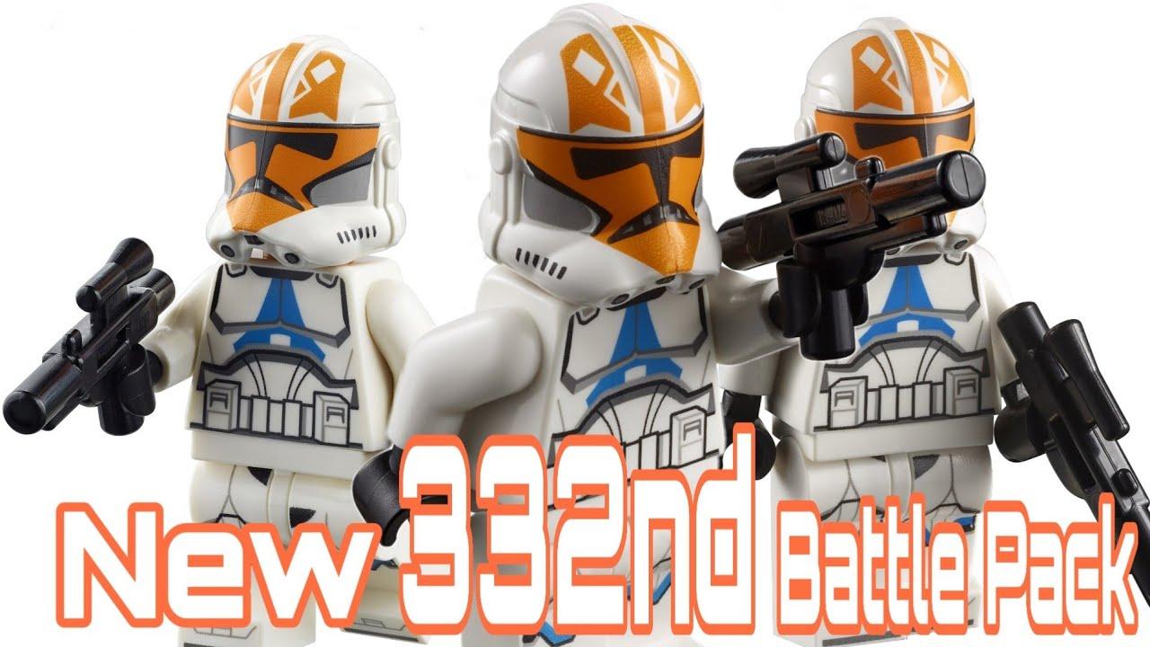 I'm Predicting A Lego 332nd Clone Trooper Battle Pack For 2021 | Lego Star Wars