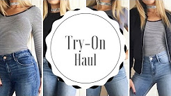 CLOTHING TRY-ON HAUL (PacSun, H&M, ect..) ♡ Cesley Taft