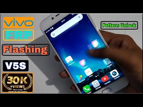 How To Flash Vivo V5s Remove Pattern / PIN / Password (1713