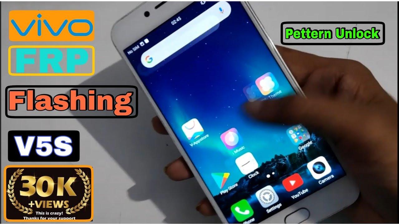 Vivo V5s Firmware Screen Password Unlock 10000% ok Frp Unlock And Hang  Problem Solution Sunil Rohill