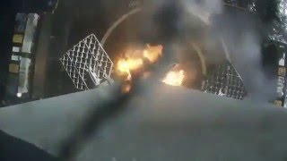 SpaceX Falcon 9 F9-0023 (CRS-8) onboard landing video
