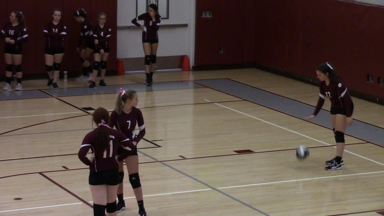 NCCS - AuSable Valley JV volleyball  10-21-19